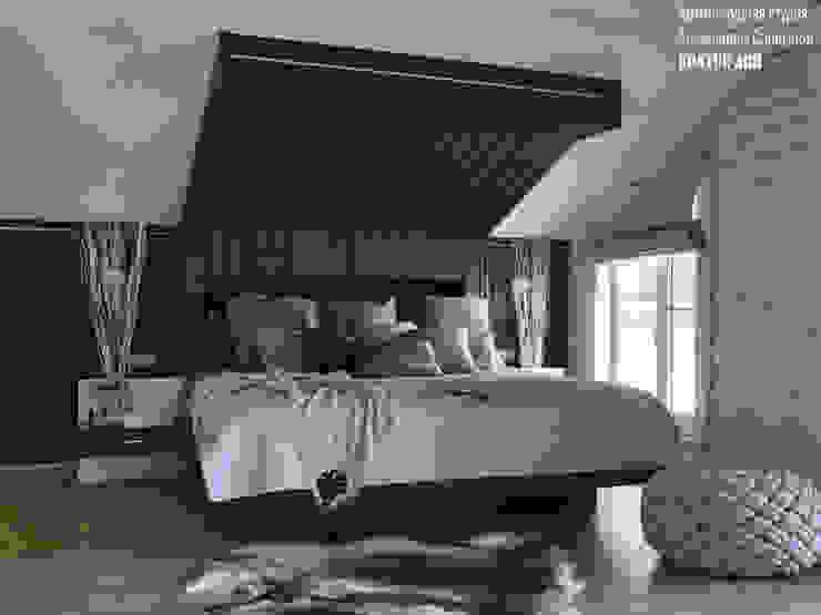 Спальня от Архитектурная студия Александры Спицыной
