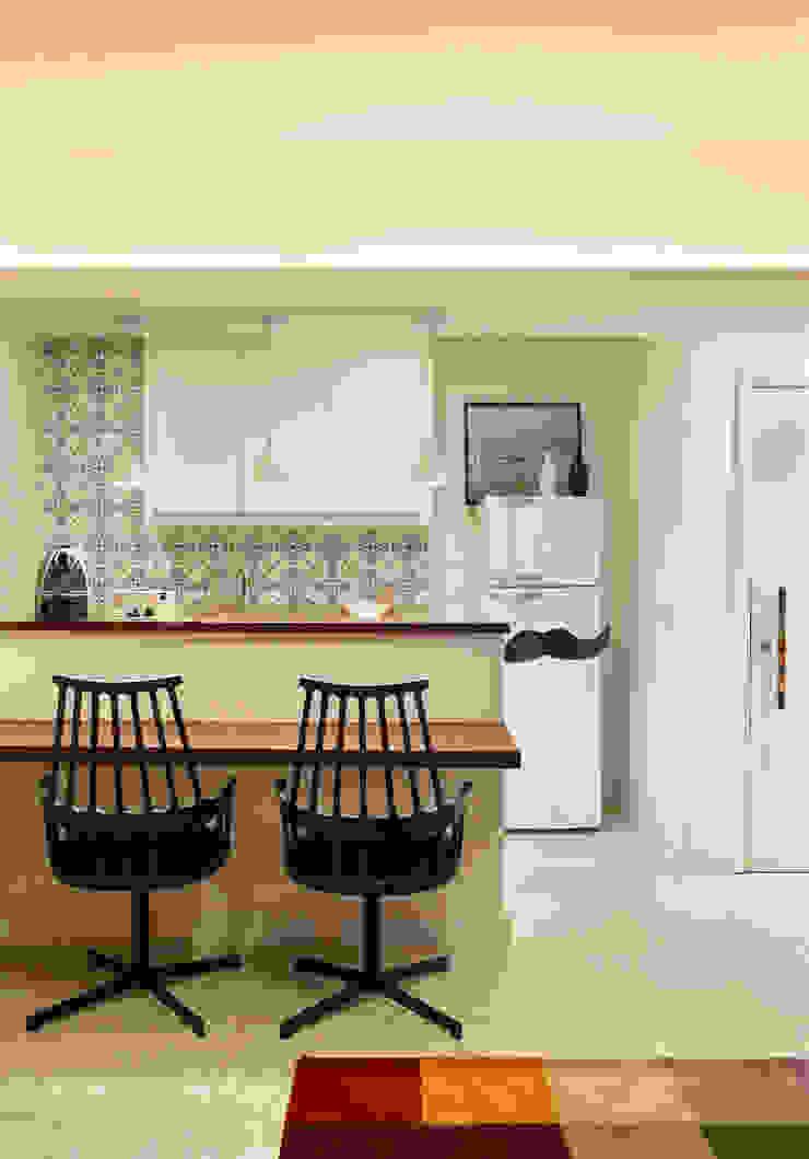Apartamento Botafogo Cozinhas ecléticas por Mariana Dornelles Design de Interiores Eclético