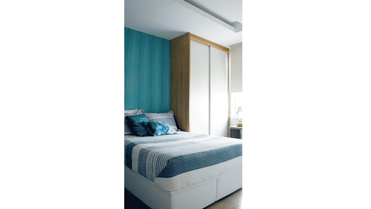 Спальня в стиле модерн от fpr Studio Модерн