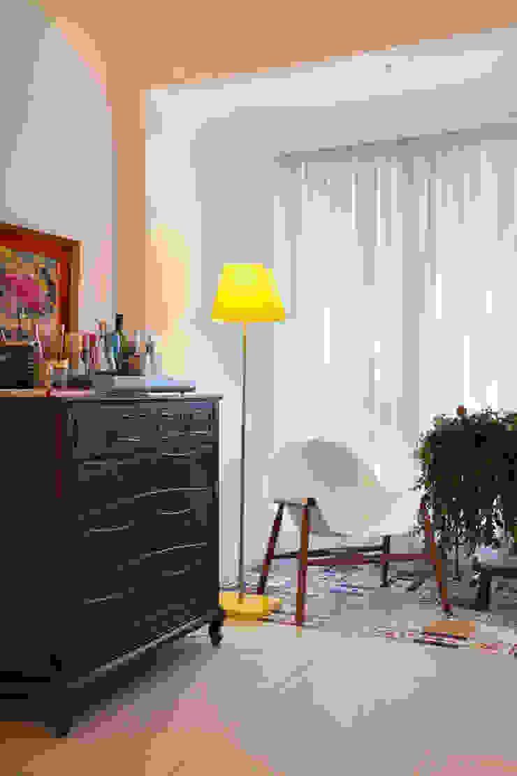 Apartamento Botafogo Varandas, alpendres e terraços ecléticos por Mariana Dornelles Design de Interiores Eclético