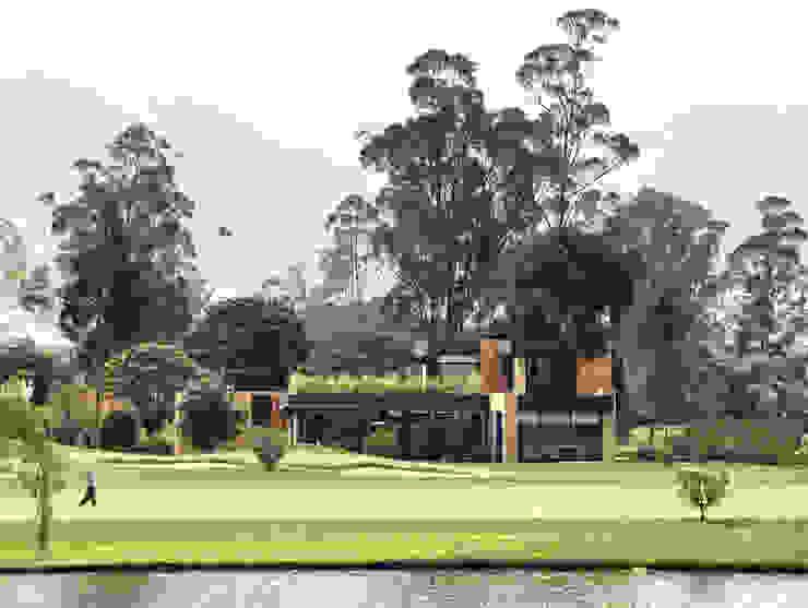 Casa del Portico: Casas de estilo  por David Macias Arquitectura & Urbanismo, Moderno