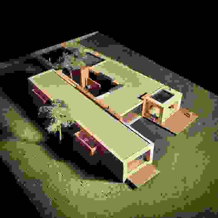 Casa H Casas de estilo minimalista de David Macias Arquitectura & Urbanismo Minimalista