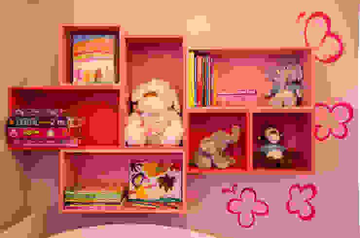 Residência Fernandes Guimarães Quarto infantil moderno por LMartins Fotografia Moderno