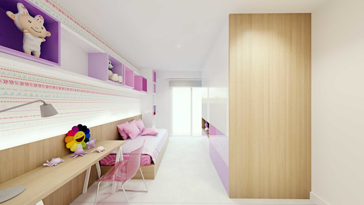 Nursery/kid's room by fpr Studio