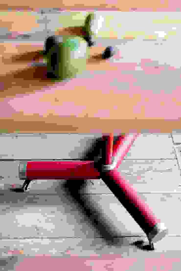 Nogi stołu w kuchni od Loft Kolasiński Industrialny Żelazo/Stal
