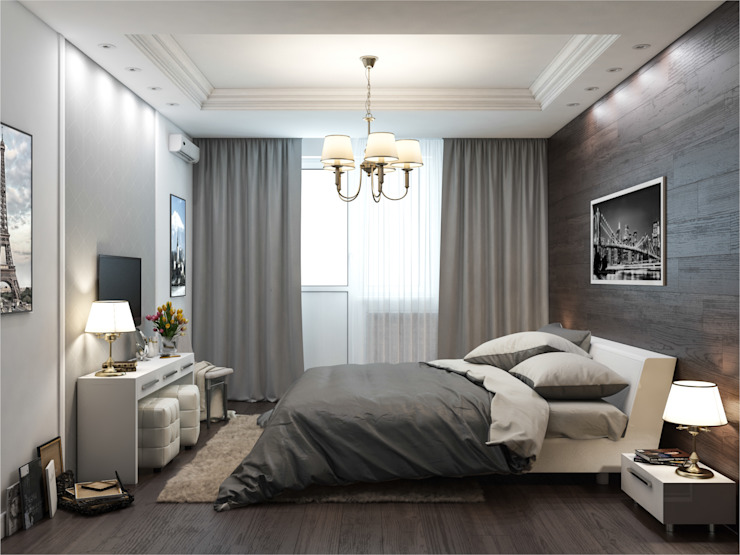 Bedroom by Rosso,