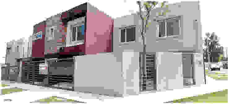 Obra Lucero Casas modernas: Ideas, imágenes y decoración de Silvana Valerio Moderno