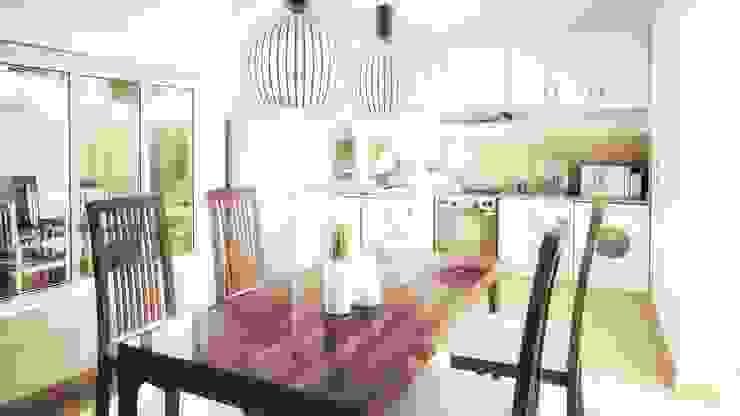 Salas de jantar modernas por Silvana Valerio Moderno