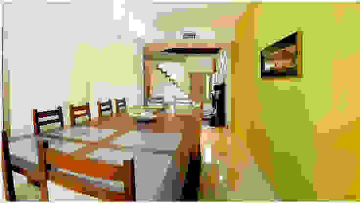 Столовая комната в стиле модерн от Silvana Valerio Модерн