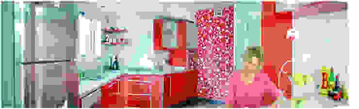 Obra La Piedad Cocinas modernas: Ideas, imágenes y decoración de Silvana Valerio Moderno