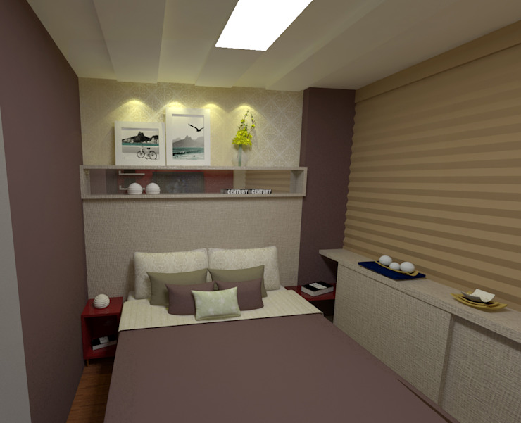 Modern style bedroom by Duecad - Arquitetura e Interiores Modern