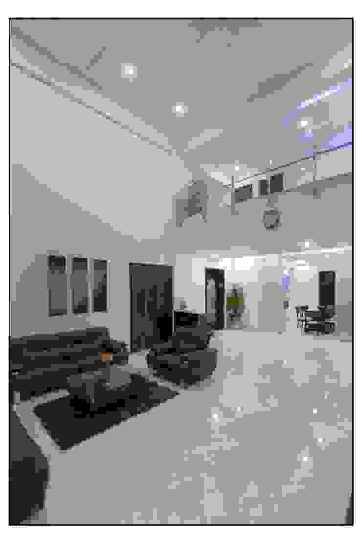 Thane Site Modern living room by CK Interiors Pvt Ltd Modern