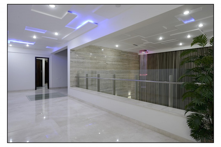 Thane Site Modern balcony, veranda & terrace by CK Interiors Pvt Ltd Modern