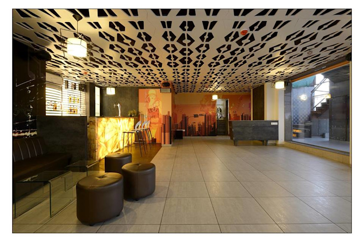 21WEST Modern dining room by CK Interiors Pvt Ltd Modern