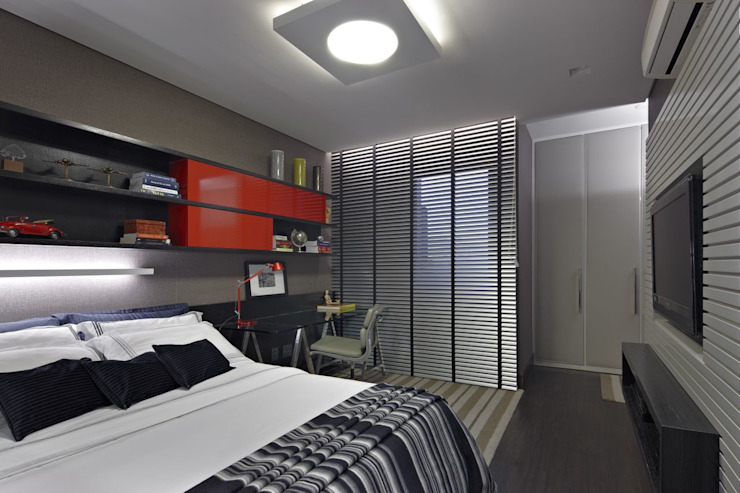 Gláucia Britto Modern style bedroom