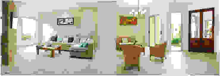 Moderne Wohnzimmer von Silvana Valerio Modern