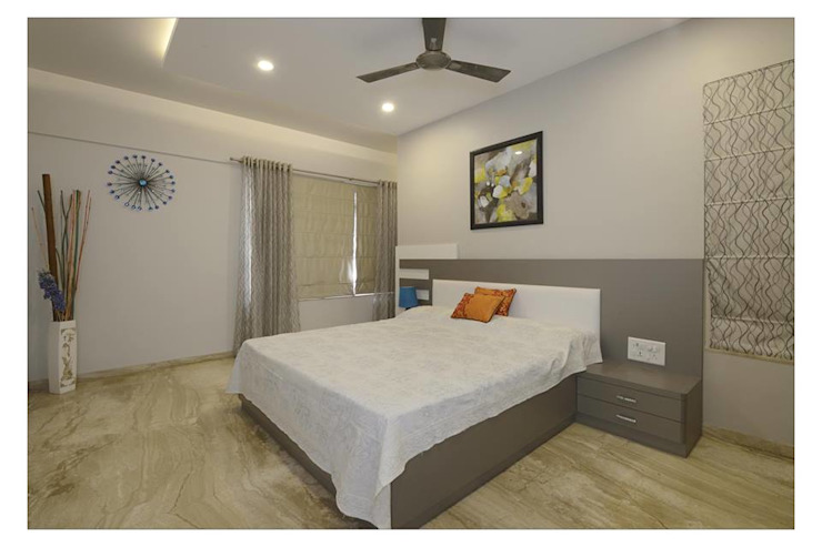 Jaiswal, Pune Modern style bedroom by CK Interiors Pvt Ltd Modern