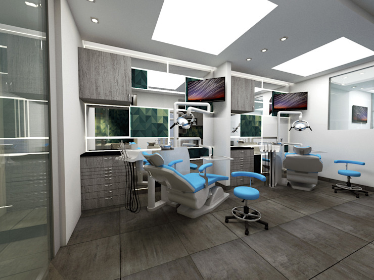 Grupo Odontologico Go2 de FergoStudio Minimalista
