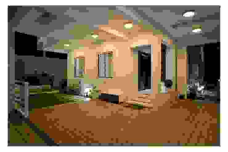 Bungalow project Modern corridor, hallway & stairs by CK Interiors Pvt Ltd Modern