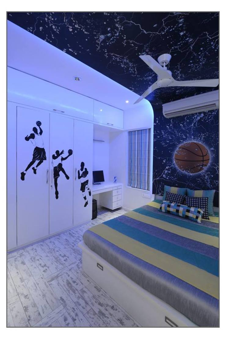 Bungalow project Modern style bedroom by CK Interiors Pvt Ltd Modern