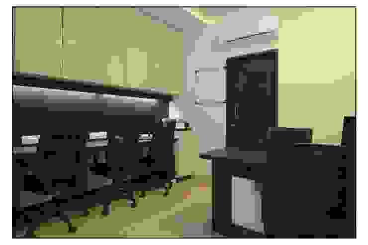 Pune Site Modern study/office by CK Interiors Pvt Ltd Modern