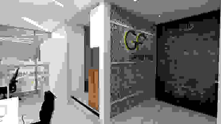 Oficinas GrupoFergo de FergoStudio Minimalista