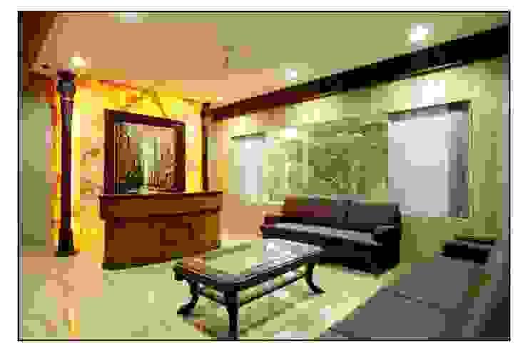 Rahul Construction Pune Modern study/office by CK Interiors Pvt Ltd Modern