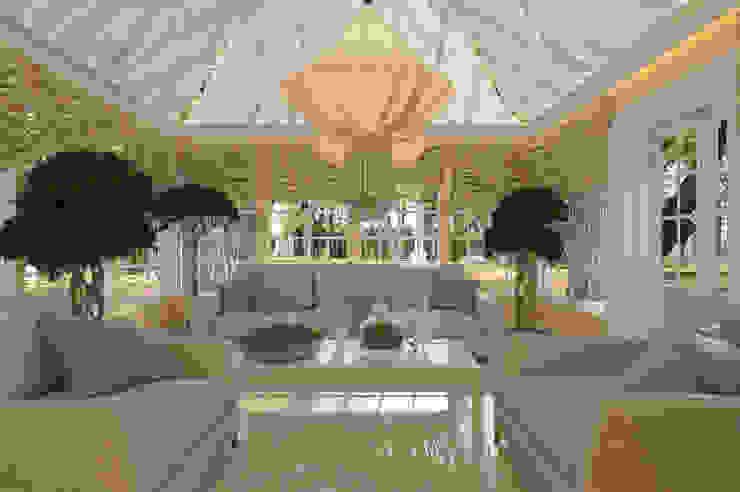 House on St.George Hill Jardines de invierno clásicos de EVGENY BELYAEV DESIGN Clásico