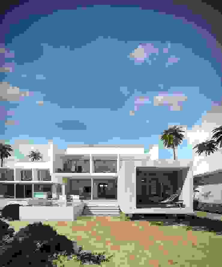 Villas Santa Clara Casas modernas de TNGNT arquitectos Moderno