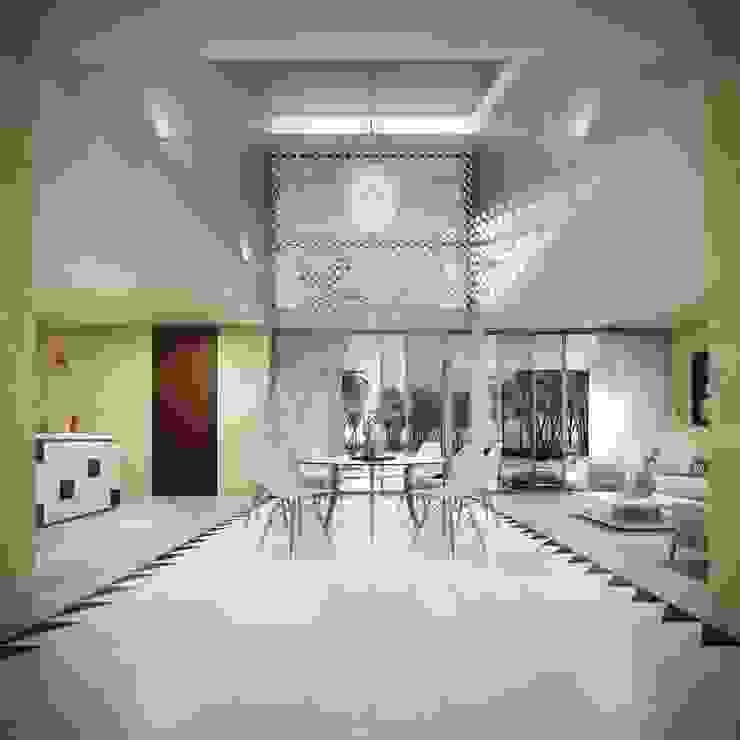 Villas Santa Clara Comedores modernos de TNGNT arquitectos Moderno