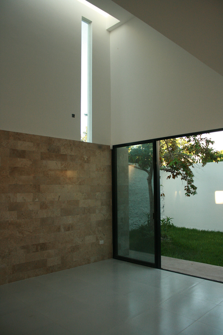 Casa RP Salones modernos de TNGNT arquitectos Moderno