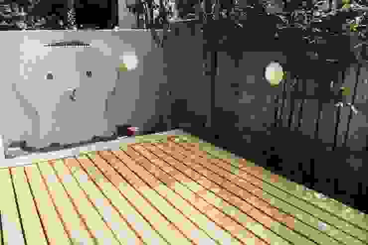 府中の家リノベーション オリジナルデザインの テラス の 松井建築研究所 オリジナル