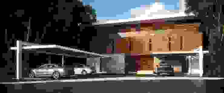 Casa HH Casas modernas de TNGNT arquitectos Moderno