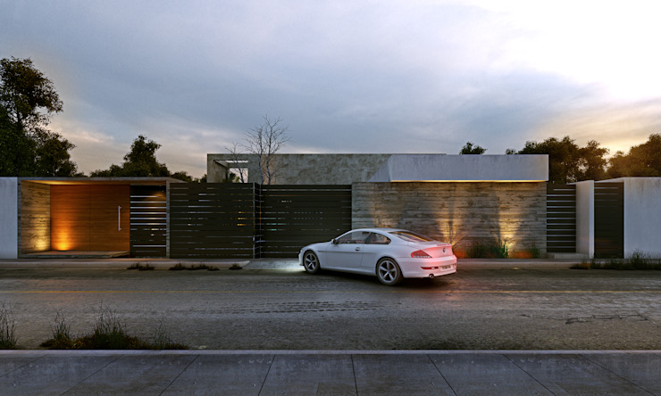 Houses by TNGNT arquitectos,