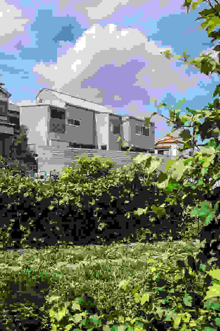 長尾元町の家 モダンな 家 の 藤森大作建築設計事務所 モダン 金属