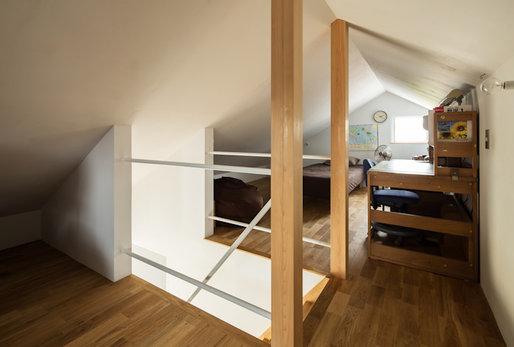 by 藤森大作建築設計事務所 Modern Wood Wood effect