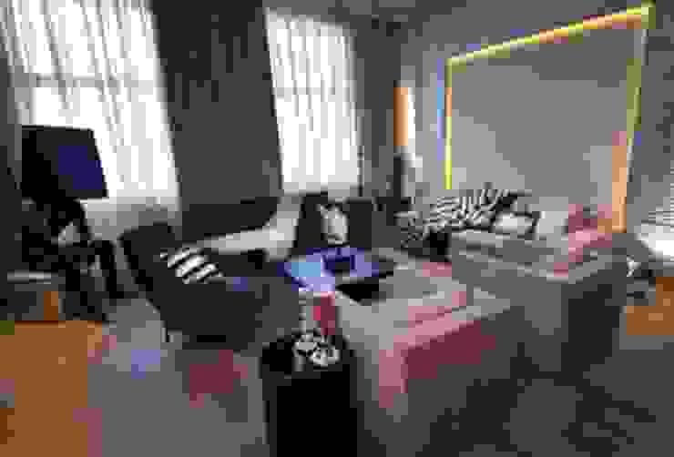 Квартира на Староильинской Гостиная в стиле модерн от Дизайн-студия «ARTof3L» Модерн