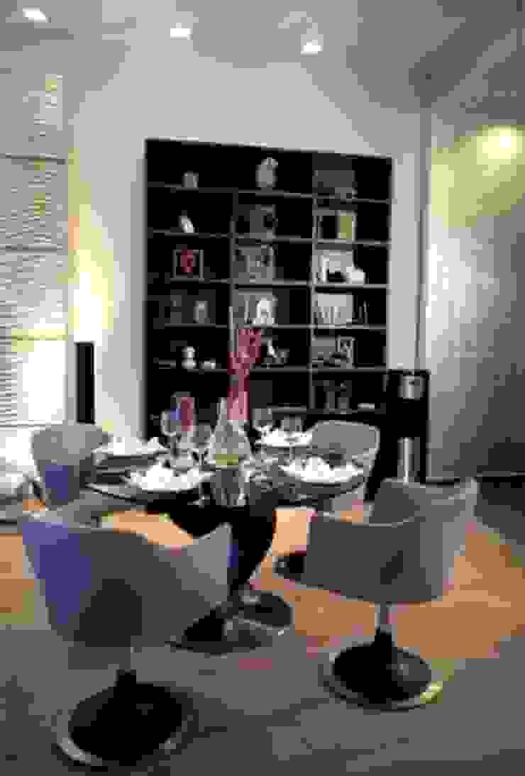 Квартира на Староильинской Столовая комната в стиле модерн от Дизайн-студия «ARTof3L» Модерн