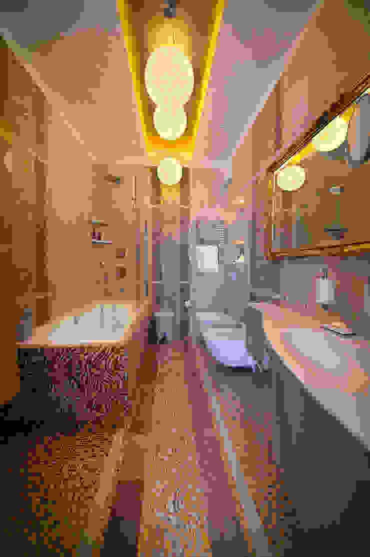 Квартира на Староильинской Ванная комната в стиле модерн от Дизайн-студия «ARTof3L» Модерн
