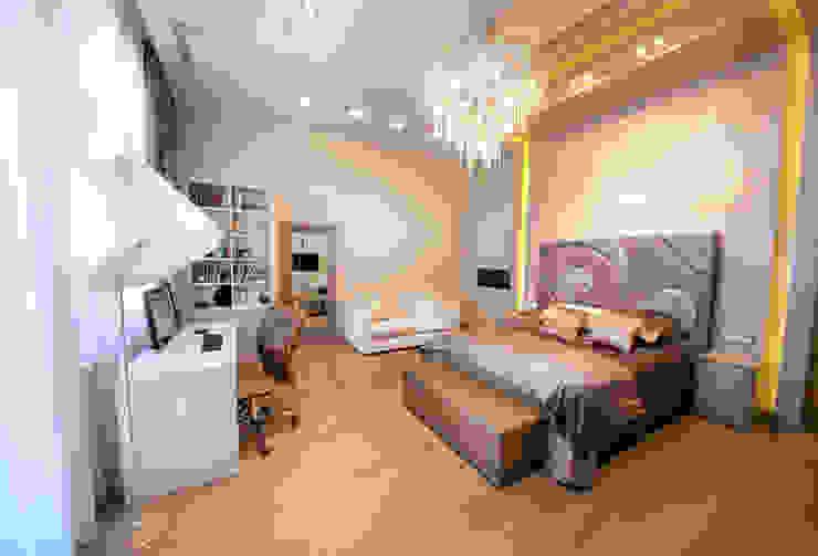 Квартира на Староильинской Спальня в стиле модерн от Дизайн-студия «ARTof3L» Модерн