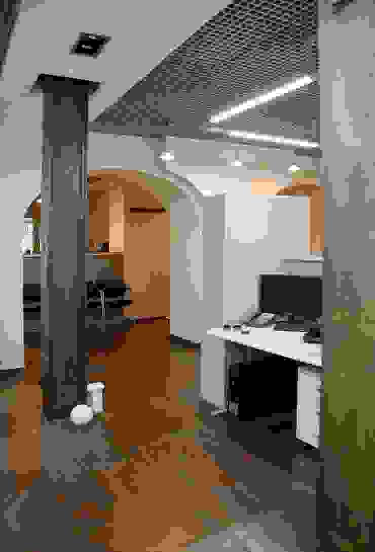Офис на Зоологической Офисы и магазины в стиле лофт от Дизайн-студия «ARTof3L» Лофт