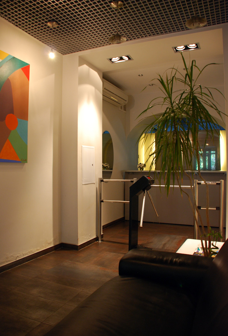 Офис на Зоологической Офисные помещения в стиле лофт от Дизайн-студия «ARTof3L» Лофт
