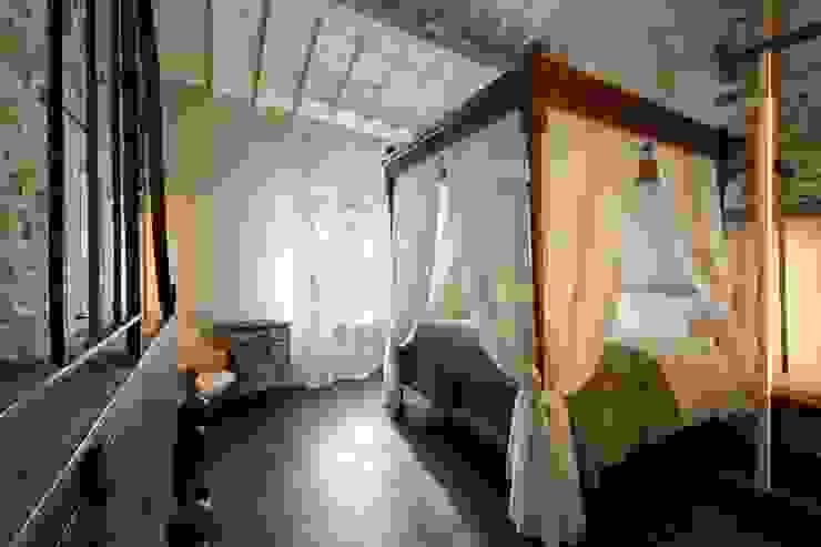 Porte del Passato DormitoriosCamas y cabeceros Madera Marrón