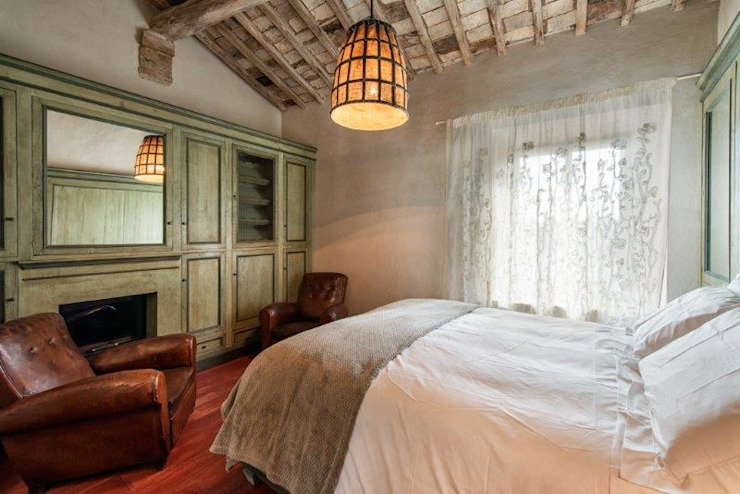 Porte del Passato DormitoriosCamas y cabeceros Madera Verde