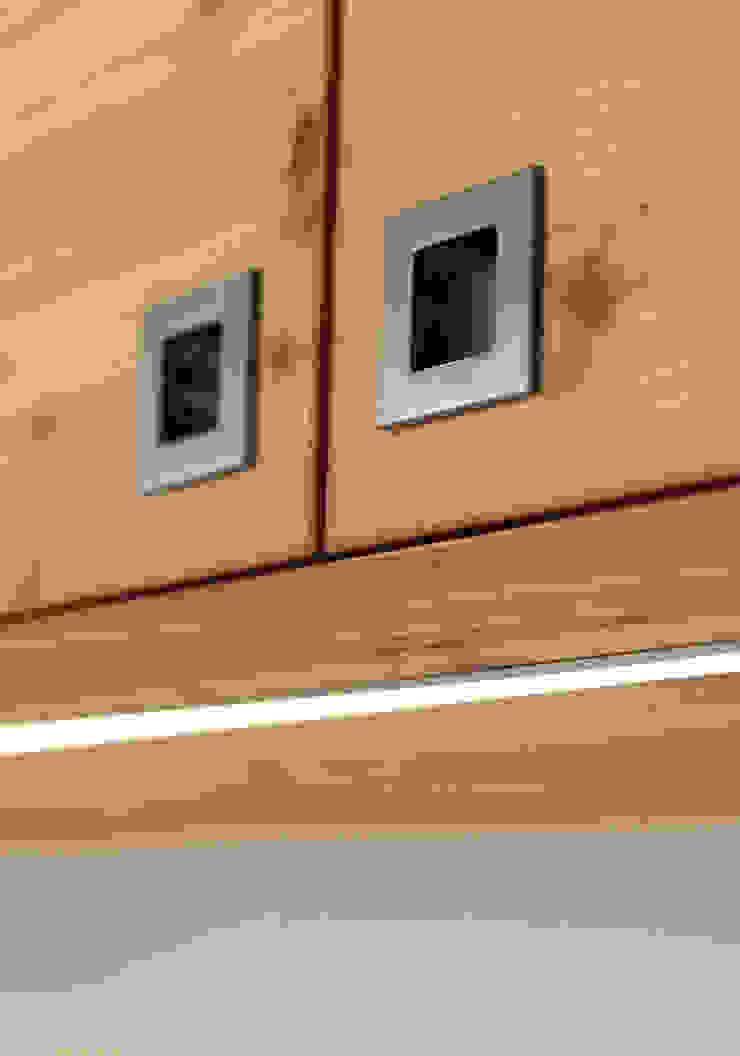 現代  by zanella architettura, 現代風 木頭 Wood effect