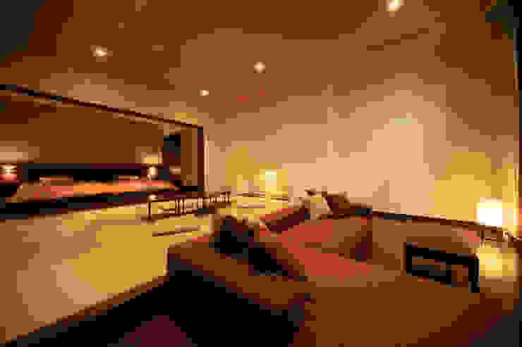 3、4F客室 モダンなホテル の 株式会社井上輝美建築事務所+都市開発研究所 aim.design studio モダン