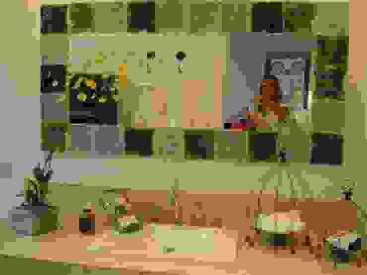 Reciclaje y diseño de baños de Arq.Viviana Rigabert Moderno