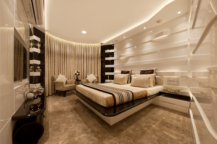SDA designs Eclectic style bedroom