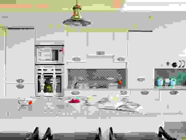 ヴィクトリアンスクールコンバージョン オリジナルデザインの キッチン の 澤山乃莉子 DESIGN & ASSOCIATES LTD. オリジナル