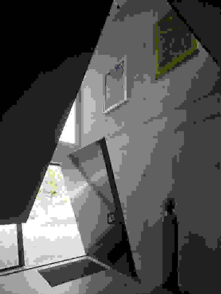 Villa in de duinen, Hoek van Holland Moderne gangen, hallen & trappenhuizen van De Zwarte Hond Modern